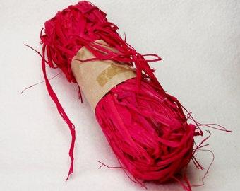 1 oz. Package of Raffia in Medium Red