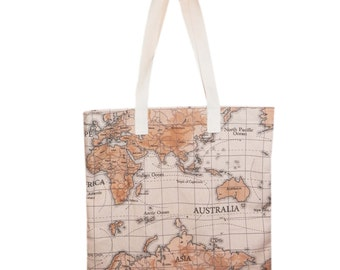 Tote Bag - World Map