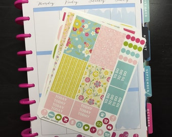 HAPPY PLANNER- Sweet Summertime Floral