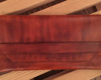Hand Crafted Leather Clutch