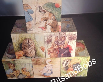 Peter Rabbit nursery blocks