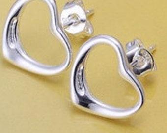 Casual wear Sterling Silver Earrings, Trendy Earrings, Lady's Earrings, Valentine's Gift.