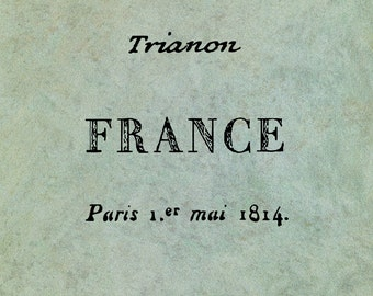 Set of Three Handwritten French Words - Antique Style Clear Stamp