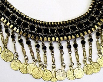 Antique Inspired Coin Necklace