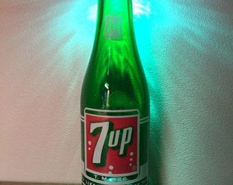 Vintage 7up Bottle Light