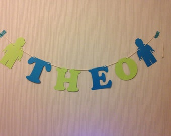 Paper decoration paper garland name