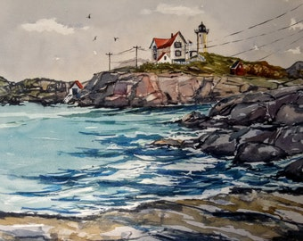 Nubble light house, Maine