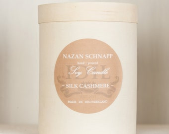 Silk Cashmere IDIL Soy Candle