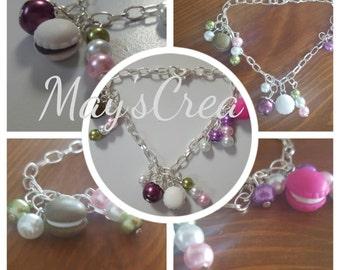 "Bracelet theme ""Macaroons"""