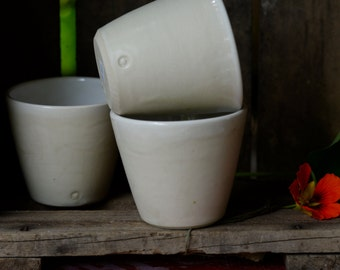 set of three cups