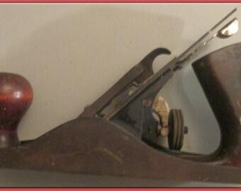 """FULTON Wood  Plane 9 1/4"""" --USA--Vintage"""