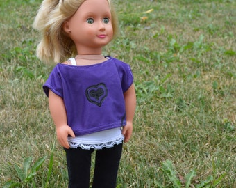 18 Inch Doll Clothes - Comfy Outfit - Fits American Girl Doll