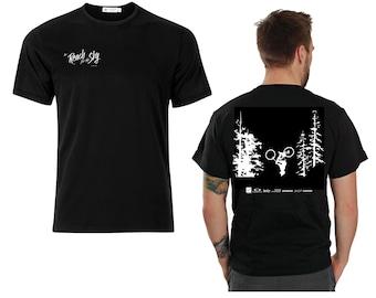 T-Shirt, mountain bike shirt, men's shirts, mountain bike gift, gift for mountain biker, gift for cyclist, Mountain Bike movie, Bike T-Shirt