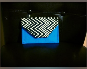Blue Small Clutch