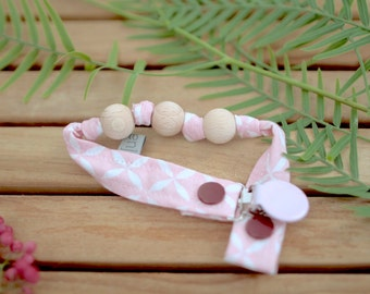 Chupetero-Wooden Baby Teether | Rosa Astre