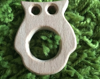Teethers wood (wood teether)