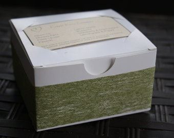 Olive Green Soap Gift Box