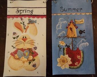 Seasonal Garden Flags (set of 4)