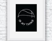 Basketball Printable, Bas...