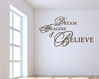 Dream Imagine and Believe