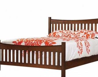 Shaker Style Bed - Queen Size
