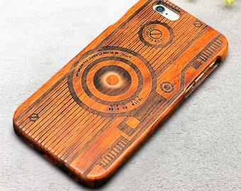 Camera iPhone Case Wood iPhone Case iPhone 6/6s case iPhone 6 Plus Case iPhone 5 Case iPhone Case