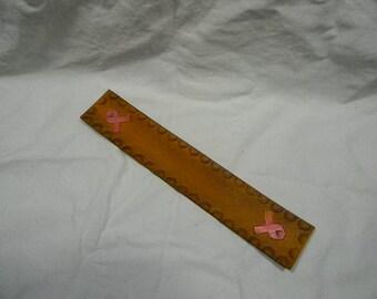 Pink Ribbon Bookmark