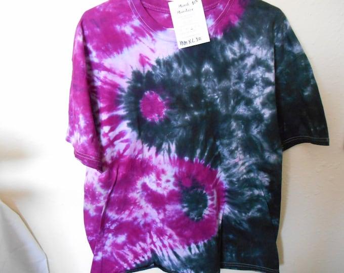 100% cotton Tie Dye T shirt MMXL32 size XL