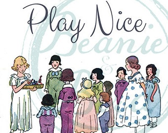 Play Nice Printable