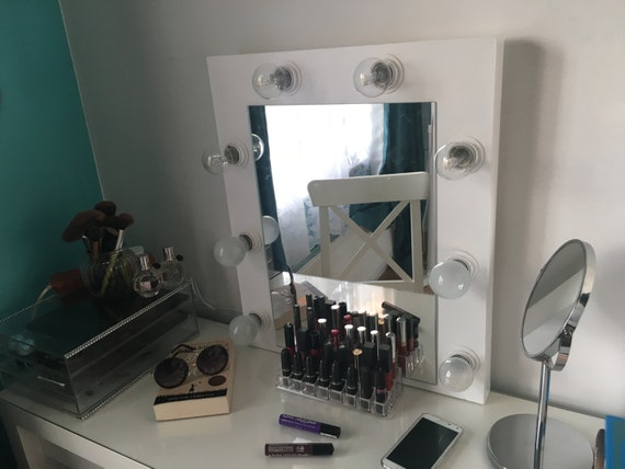 Vanity Mirror With Lights Etsy : Items similar to Make Up Vanity Mirror with Lights on Etsy