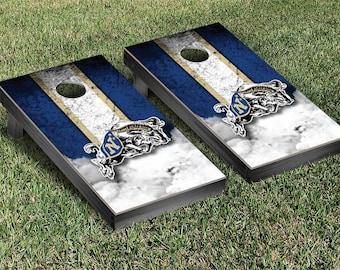 U.S. Naval Academy Midshipmen Cornhole Game Set Stripe Designs