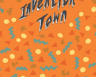 A5 Invention town zine