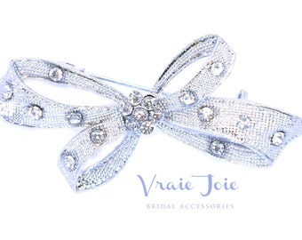 Wedding Brooch, Crystal, Jewellery, Bridal Jewellery, Bridal Accessory