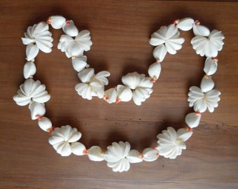 Shell necklace ethnic vintage