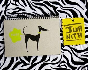 Notebook · Pufete fart Greyhound