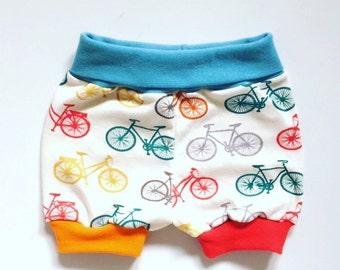 Organic Cotton Rainbow Bicycle Shorts