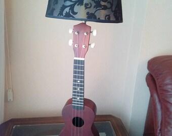 Ukulele music lamp