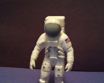 3D Printed/Painted Astronaut