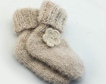 "Baby socks ""Floret"""