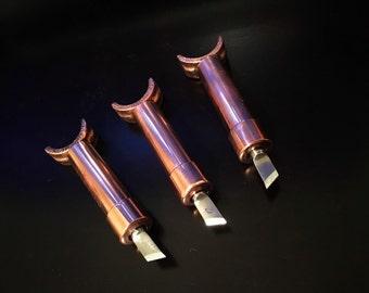 The Copper Swivel Knive