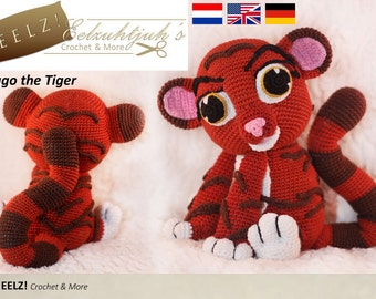 Tiago the Tiger - Crochet Pattern
