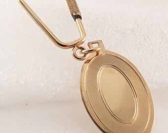 SPEIDEL Vintage 14karat Gold-Filled Engravable Split Ring Key Ring. Unused