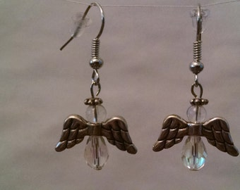 Angel Earrings - Certainly Clear