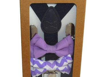 Mr Charlie - Adjustable Baby / Toddler Suspenders and Bow tie Set