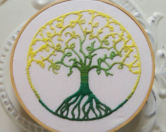 Tree of Life Embroidery Hoop