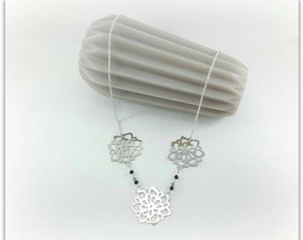 Pendant silver and chic