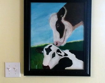 Happy Mother's Day  (framed acrylic painting)