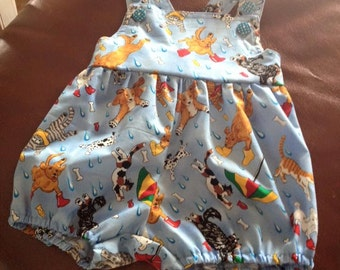 Cats & Dogs Romper size 1