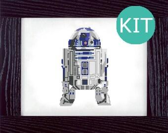 R2D2 Star Wars Cross Stitch Kit