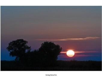 Postcard_056 - Sunset Hortobagy National Park (Hungary)